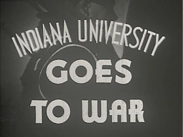 Indiana University Goes to War