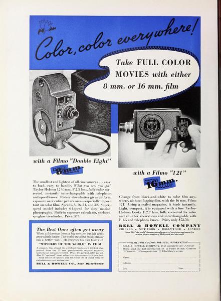 Filmo 121 Advertisement