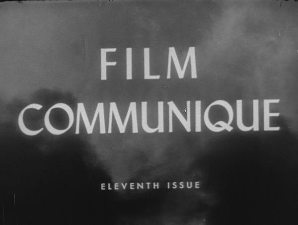 Film Communique: Eleventh Issue