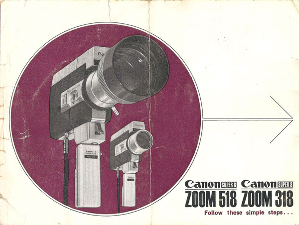 Canon Zoom 318/518 Instruction Manual