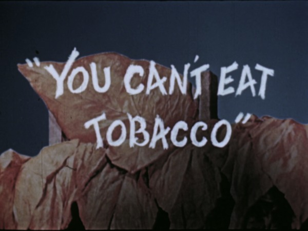 You Can't Eat Tobacco