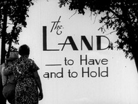 The Land - To Have and To Hold