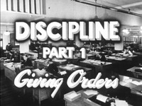 Discipline: Giving Orders
