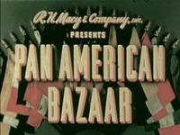 Pan-American Bazaar
