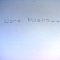 Work Means...(Why People Work)