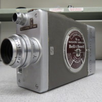 """<p style=""""text-align: center;""""><em><a href=""""http://collections.libraries.indiana.edu/IULMIA/exhibits/show/alan-lewis-collection"""">Return to Collection Home Page</a></em></p><br /> Bell &amp; Howell 200"""