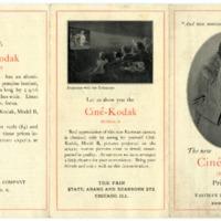 Ciné-Kodak Model B Pamphlet