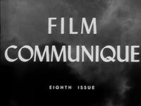 Film Communique: Eighth Issue