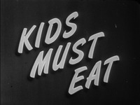 Kids Must Eat