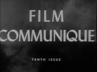Film Communique: Tenth Issue