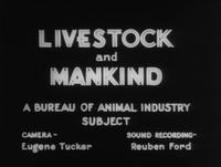 Livestock and Mankind
