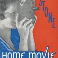 1933 Keystone Home Movie Camera and Projectors Catalog