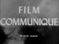 Film Communique: Ninth Issue