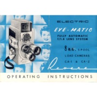 Revere Eye-Matic Model CA-2 Instruction Manual