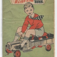 Keystone Heavy Steel Ride' Em Toys 1920s