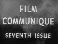 Film Communique: Seventh Issue