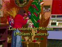 Los colores de Miriam
