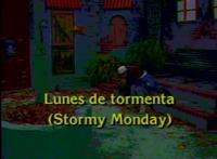 Lunes de tormenta