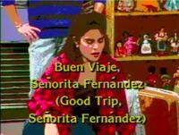 Buen viaje, Señorita Fernández