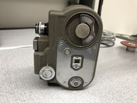 """<div style=""""text-align: center;""""><em><a href=""""http://collections.libraries.indiana.edu/IULMIA/exhibits/show/alan-lewis-collection"""">Return to Collection Home Page</a></em></div><br /> <br />Cin&eacute;master II Model G-8"""