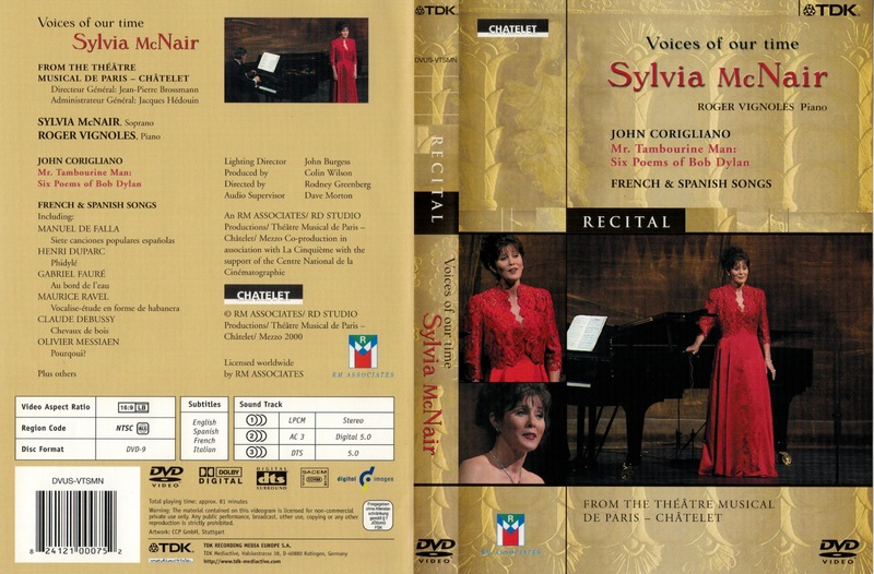 Voices of our time: Sylvia McNair<br /> <br /> From the The Théâtre Musical de Paris- Châtelet