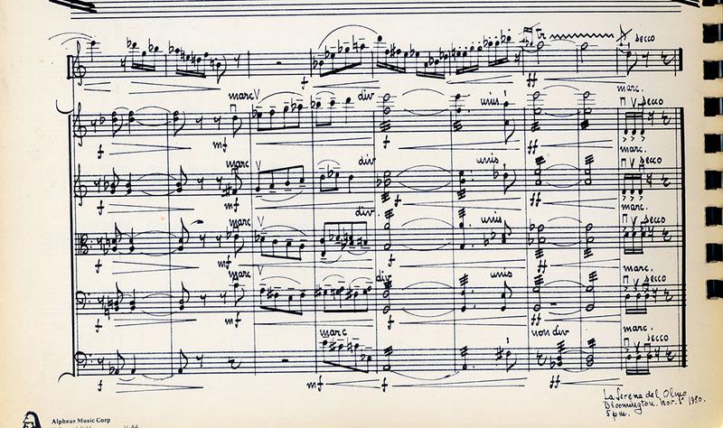 Score: Concerto para oboe y cuerdas, op. 77 (1980) by Juan Orrego-Salas