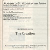 Academy of St. Martin in the Fields Haydn The Creation 12 8 91 p.2.jpg
