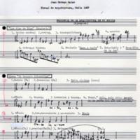 """Writings: """"Presencia de la arquitectura en mi música"""" by Juan Orrego-Salas"""