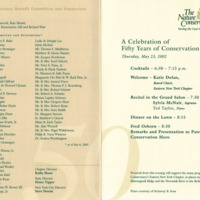 Nature Conservancy A Celebration of 50 Years of Conservation May 23 2002 p.2.jpg