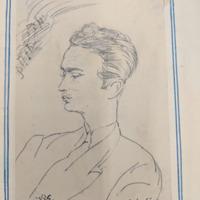 Orrego-Salas self-portrait: Instantánea