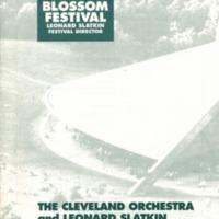 Cleveland Orchestra Blossom Festival Jul 19-20 1996 p.1.jpg