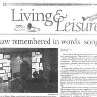 Robert Shaw article Jan 30 1999 2.jpg