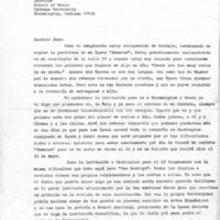 Letter: Alberto Ginastera to Juan Orrego-Salas, 1967