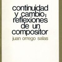 Writings: Continuidad y Cambio by Juan Orrego-Salas
