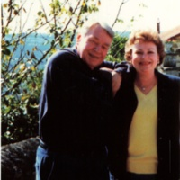 Robert and Caroline Shaw, Capdenac, France Sept. 6 1992 [photo by Bettye Sue Wright].jpg