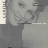 Chatelet Theatre Musical de Paris Recital May 24 2000 p.1.jpg