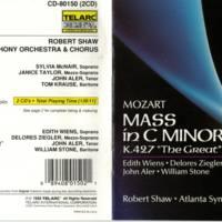 Atlanta Sym Orch & Chorus Beethoven Missa Solemnis:Mozart Mass in C Minor CD.jpg