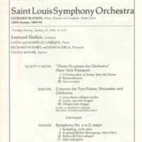 Saint Louis Sym Orch Carnegie Hall Mahler Sym No 4 Jan 18 1990 p.2.jpg