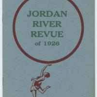 Jordan River Revue Program 1926