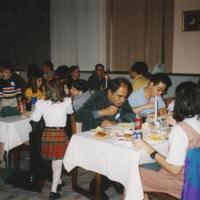 International Friend Association's Thanksgiving dinner