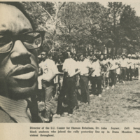 Black Students Join Protest