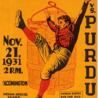 Purdue vs. I.U. Football Program