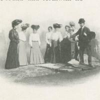 The Pump Before The Rose Well House was Built