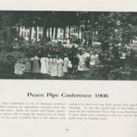 Peace Pipe Conference 1908