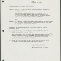 Student Senate Bill B-29