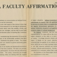 """A Faculty Affirmation"""