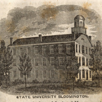College Building constructed in 1836 on the Seminary Square Campus