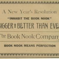 Book Nook Advertisement