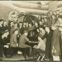 Hoagy Carmichael at the Book Nook