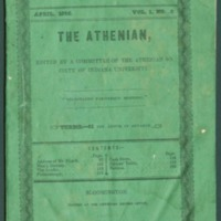 The Athenian, Volume One, Number Five